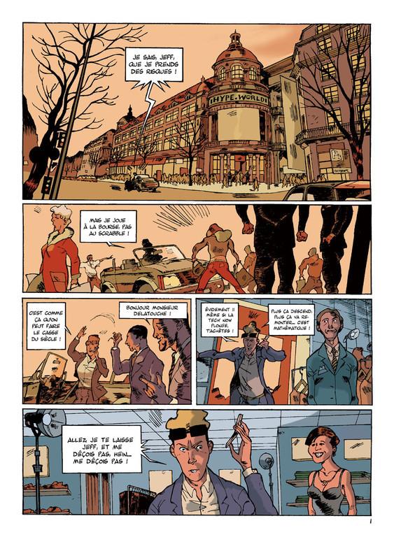 LE DROMOPHILE, PAGE 1, AVEC PATES