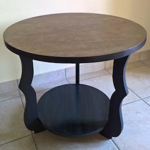 Rénovation Table en bois - Crolles