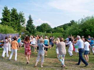 Trommeln und Tanz Freudigmann
