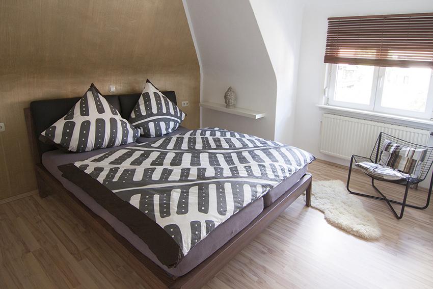 Bett mit 2x90er Matratzen perfekt für den Familienurlaub