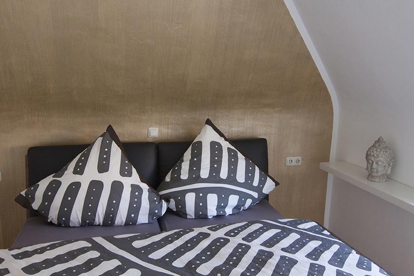 großes Schlafzimmer der Ferienwohnung Waldblick Odenwald in Bad König