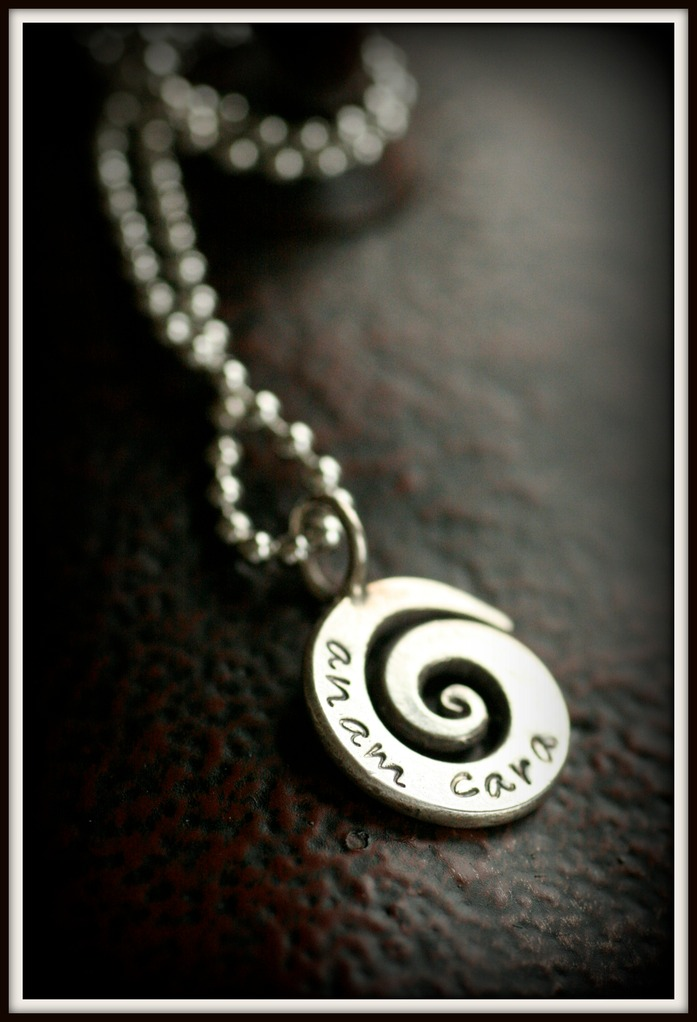 Anam cara collection amy lowery designs everyone has a certain style and this beautiful swirl pendant is the perfect piece for a friend who likes things casual and has one piece they wear all the mozeypictures Gallery
