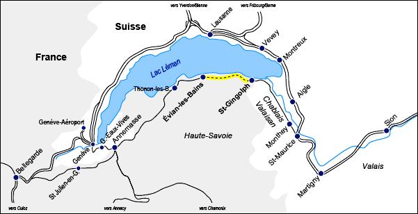Ligne sud lémanique