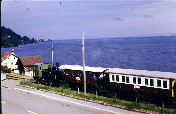 Du temps de l'exploitation de la ligne en train touristique