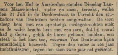 Provinciale Noordbrabantsche en 's Hertogenbossche courant 12-11-1881