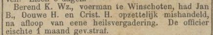 Nieuwe Veendammer courant 03-12-1888