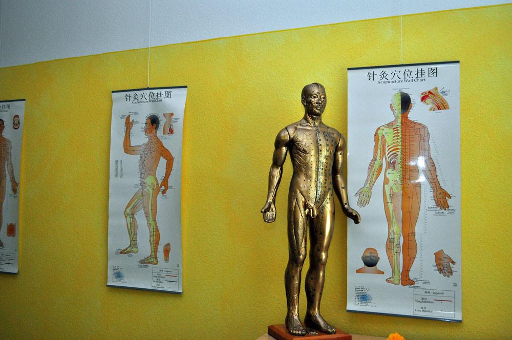 Meridiane in der Chinesischen Medizin
