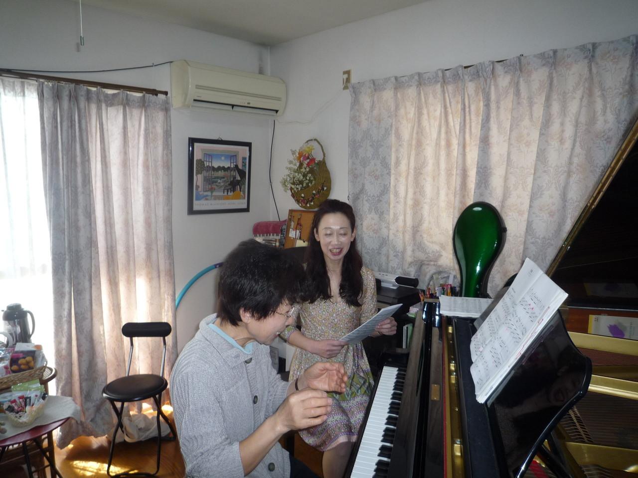 幼児から大人の方まで~個人ピアノレッスンの教室です♫