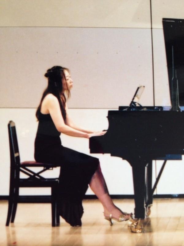 合同ピアノ発表会で講師演奏