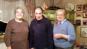 V. li. n. re.: Monika Heil, Reinhad Deiler,Katharina Väth