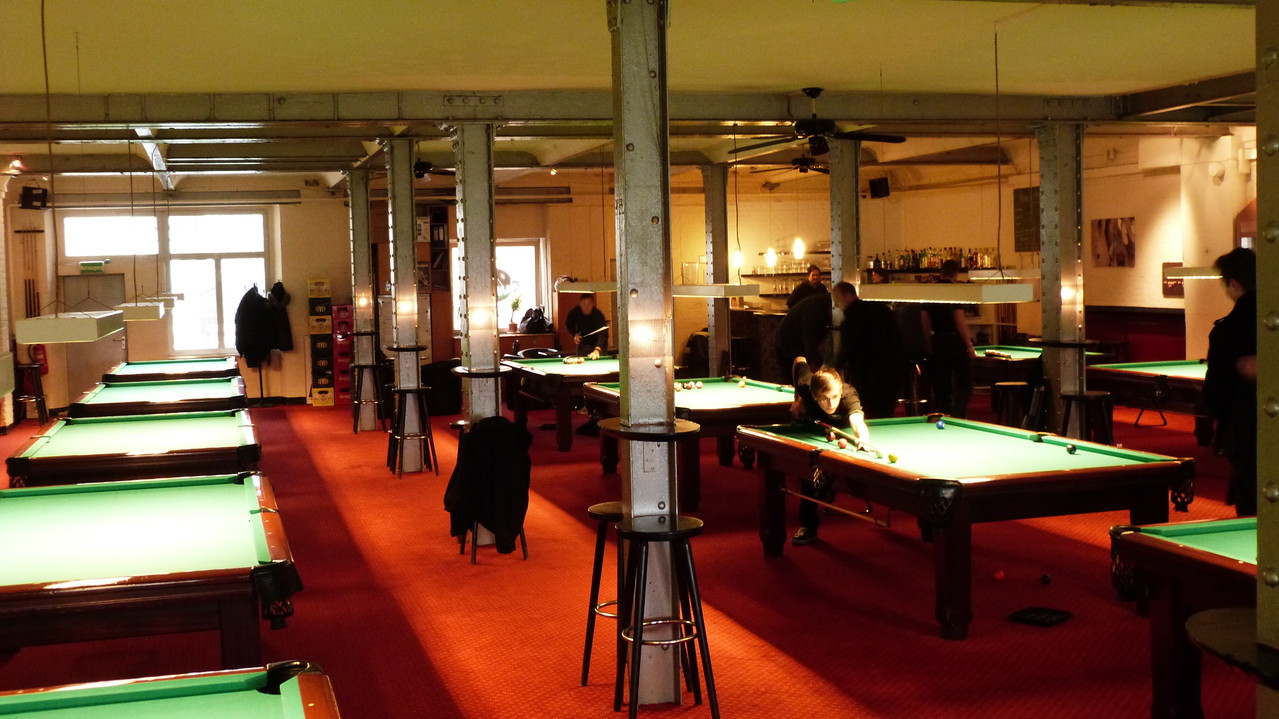 Billard Spielen In Berlin