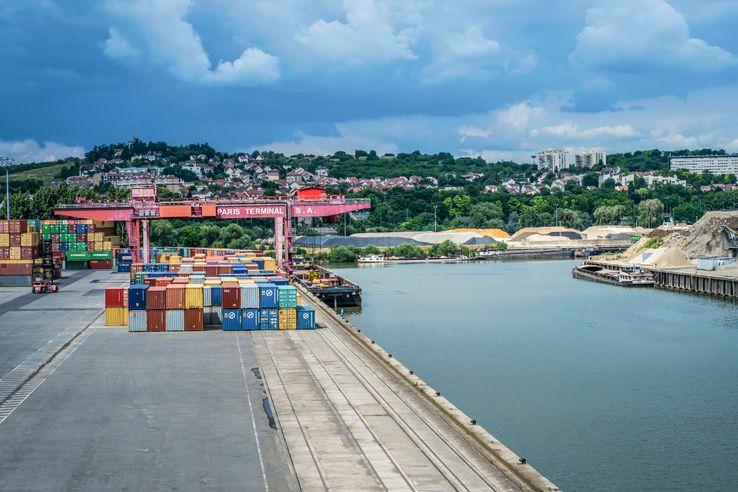 Port de Gennevilliers, Hauts-De-Seine• Crédits : Antoine Meyssonnier