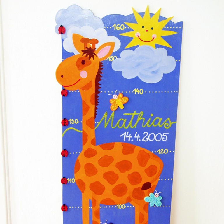 """breite Messlatte """"Giraffa"""""""