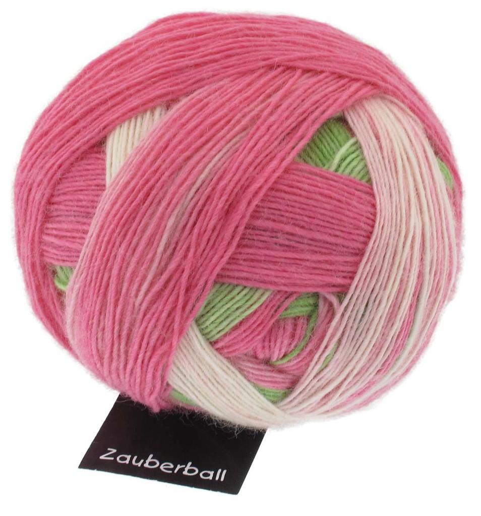 Zauberball 100g von Schoppel Farbe 1874 gebrannte Mandeln Sockenwolle Wolle