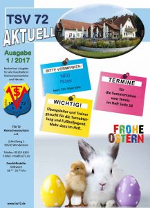 TSV 72 AKTUELL 01/2017