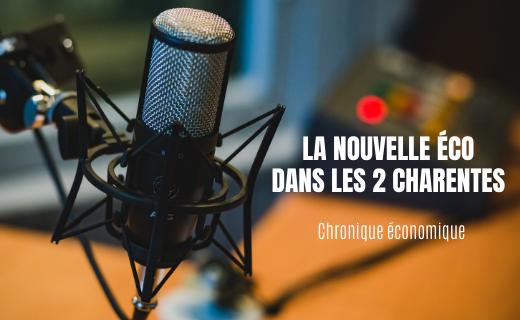 Chronique la nouvelle éco sur Radio FRANCE BLEU c'est parti !
