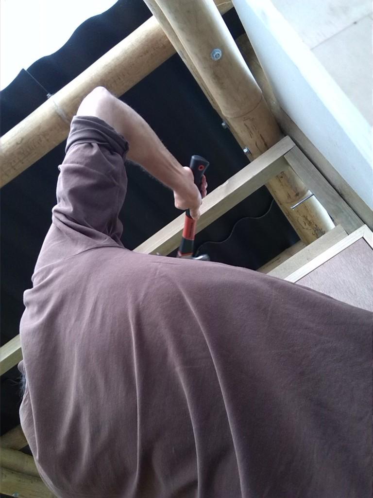 Instalando marcos