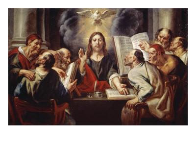 Cristo y los fariseos. Jordaens. S XVII
