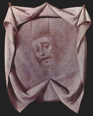 La santa faz 1635.Museo de Estocolmo.Este pasaje que no aparece en los textos del evangelio fue recogido por la tradición cristiana y se menciona en el sexto paso de Viacrucis.