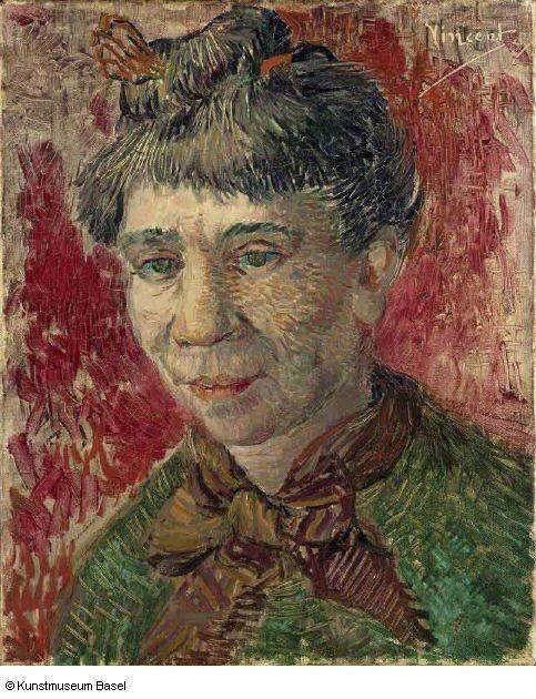 Van Goh,cabeza de mujer,1887.Vincent Willem van Gogh fue un pintor neerlandés, uno de los principales exponentes del postimpresionismo. Pintó unos 900 cuadros y realizó más de 1600 dibujos