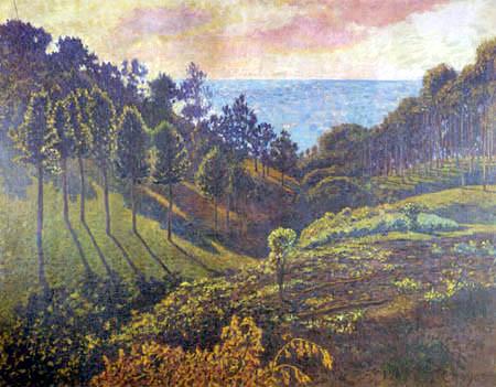 El Pinar de Ullía,1905.Óleo sobre lienzo.73x91cm. Colección particular.