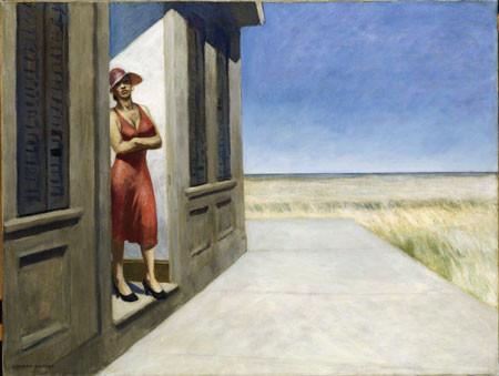 Hopper, Mañana en Carolina del Sur.1955 Óleo sobre lienzo.77x102cm.Whitney Museum of American Art. Nueva York.