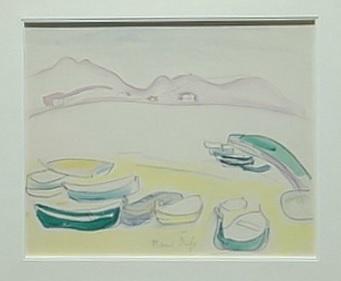 Raoult Dufy.Barques sur la plage de L´Estaque 1906.