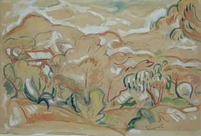 Émile Othon Friesz.Provenza 1907. Colección particular.
