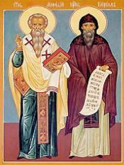San Cirilo y San Metodio, Padres de la Iglesia.