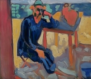 Andrée Derain.Retrato de Henri Matisse 1905.Philadelphia Museum of Art,Filadelfia.