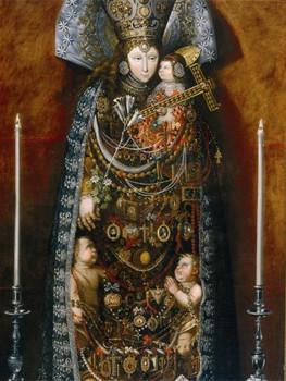 Virgen de los Desamparados, Tomás Yepes, 1610-1674,,Madrid, Monasterio de las Descalzas Reales