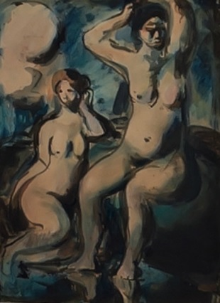 Georges Raoult.Bañistas.Colección particular.