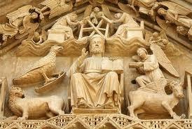 Pantocrátor y Tetramorfos en la Catedral de Burgos