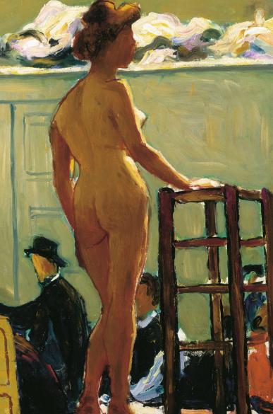 Albert Marquet.Desnudo del estante.1898.Colección particular.