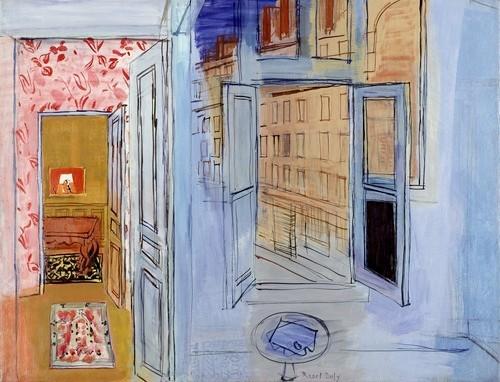 El estudio del Impasse Guelma, 1935-1952, pertenece al Centro Pompidou de Paris.Ofrece un contraluz de diversas estancias una ventana, virtuosismo y proeza en esta composición abigarrada de puertas-espacio abierto