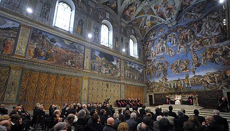 Encuentro del Papa con artistas