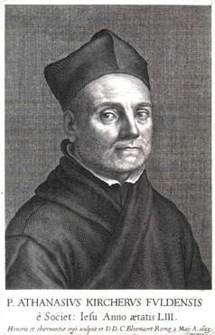 Padre Atanasius Kircher 1602-80