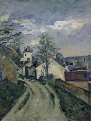 Cézanne.La casa del doctor Gachet en Auvers.
