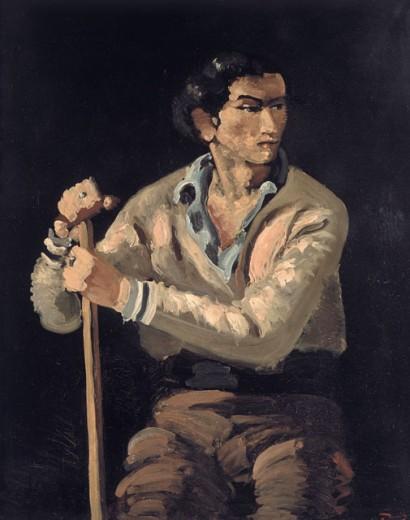 André Derain. El Gitano 1962.Óleo sobre lienzo,101x81cm.Museo de Arte Moderno de la Villa de Paris. Es la voluntad de reconciliar el arte y la vida,recupera la sencillez y la frescura de los principios del arte.
