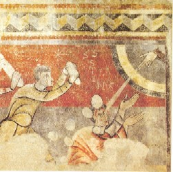 Martirio de San Esteban. Detalle de Dextera Domini