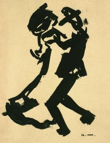 Albert Marquet.Pareja bailando 1903.Musée des Beaux Arts, Burdeos.