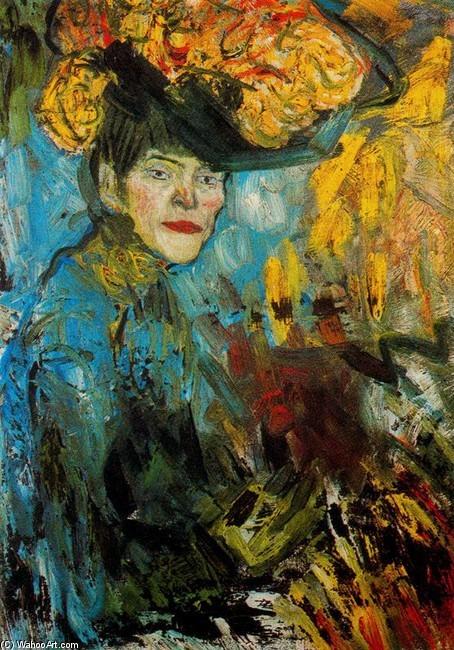Pablo Picasso.Mujer en el palco,1901. Además de las 8 obras del Prado, esta es la primera vez que visita España.Creador del movimiento cubista junto a Braque y Juan Gris.Sirvió de motor para el resto de las vanguardias.Icono mundial del arte contemporáneo