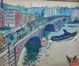 Andrée Derain.El puente de Londres. 1905-6