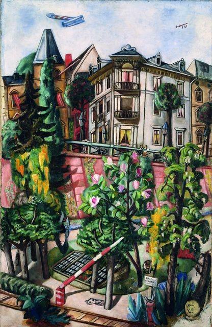 Max Beckmann.El Niza de Francfort del Meno,1921.De estilo expresionista desarrolló un carácter independiente.Conoció a Cézanne y Van Gogh,se alistó como voluntario en la I G.Mundial,agudizó su escepticismo y el drama.Destacan sus litografias apocalípticas