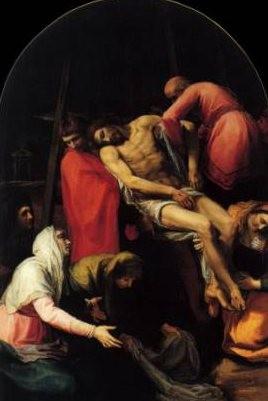 Descendimiento de Bartolomé Carducho, italiano,activo en España, 1595. El Prado, Madrid