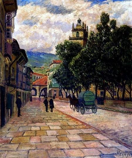 Durango,1907.Óleo sobre lienzo.61x50cm.Colección particular.
