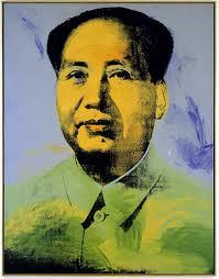 A.Warhol,Mao 1972.Acrílico, óleo y serigrafía sobre lienzo.