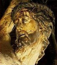 Cristo del millón SXIV, Catedral de Sevilla,imagen receptora por la que se ofrecían numerosas gracias e indulgencias a cuyos fieles colaborasen con su pecunio a finalizar el templo.
