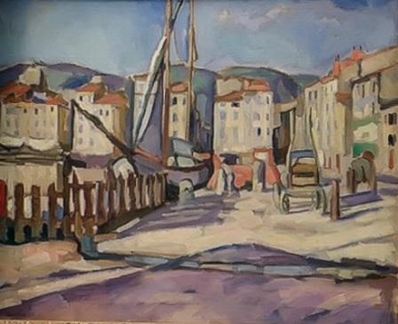 Charles Camoin. Puerto de Cassis 1905.Colección particular.