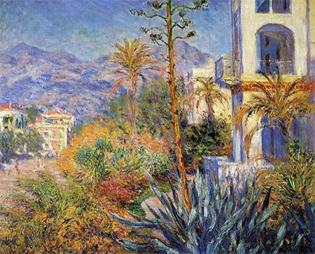 Monet,Les Villes á Bordighiera 1884